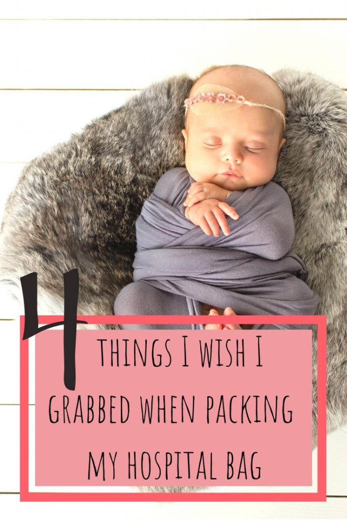 4 things I wished I grabbed when packing my hospital