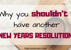 Why you shouldn' t have another new years resolution