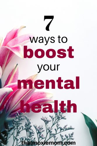 There are times where you just need a little boost to get out of a funk. Or if there's a time of the year that can be difficult to go through and you might need a little boost to keep you mentally healthy. Here are ways to give your mental health boost (or at least to feeling more like yourself). #mentalhealth #selfcare #feelinglikeyourself
