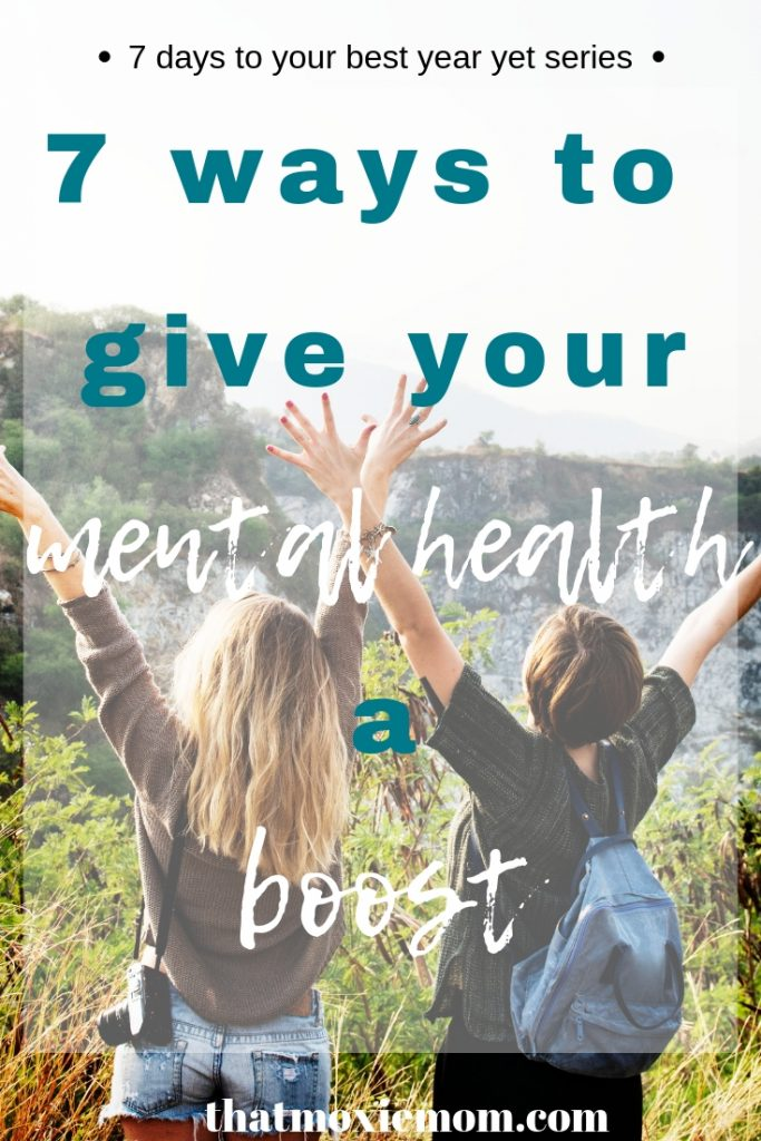 7 ways to give your mental health a boost -There are times where you just need a little boost to get out of a funk. Or if there's a time of the year that can be difficult to go through and you might need a little boost to keep you mentally healthy. Here are ways to give your mental health boost (or at least to feeling more like yourself). #mentalhealth #selfcare #feelinglikeyourself