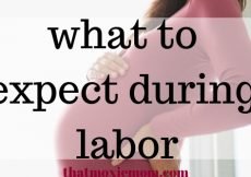 What to expect during labor when you're a new mom. When I went into labor I was so nervous, I spill all of the details of what going on during labor and delivery so you don't have to be nervous either. #pregnancy #laboranddelivery #hospitalbag #newmom